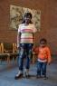 Mercy Amiosonor und ihr zweijähriger Sohn Prince
