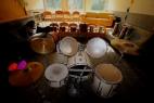 Schlagzeug im Jugendhaus
