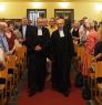 Einzug in der Friedenskirche