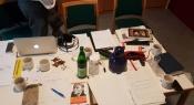 Es gibt noch viel zu organisieren