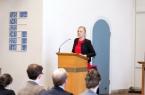 Vikarin Marina Brilmayer bei der Lesung im Gottesdienst