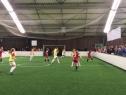 Im Turnier spielten Jungen und Mädchen jeweils in einem Team
