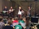Drei Bands der Jugendkirche Rheydt gehörten zum Begleitprogramm
