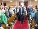 Beginn des Festgottesdienstes