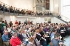 Eine wirklich große Gemeinde versammelte sich in der Elberfelder Citykirche zum Klagegottesdienst.