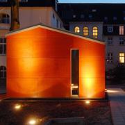 Die Kapelle ist der räumliche und geistliche Mittelpunkt des Theologischen Zentrums Wuppertal.