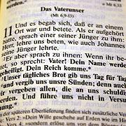 Das Vaterunser steht im Neuen Testament an zwei Stellen, darunter im Lukas-Evangelium.