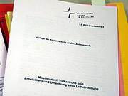 """Eine der wichtigsten Beschlussvorlagen befasst sich mit der Leitvorstellung """"missionarisch Volkskirche sein""""."""