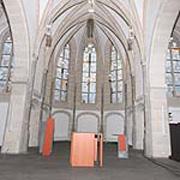 Die Prinzipalstücke in der Kirche Repelen im Überblick.
