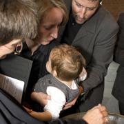 Die Taufe ist natürlich gebührenfrei.