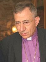 Dr. Munib Younan, Bischof der Evangelisch-Lutherischen Kirche in Jordanien und im Heiligen Land.
