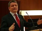 Globalisierung auch lokal denken: EKD-Ratsmitglied Hermann Gröhe in Bad Neuenahr.