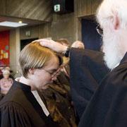 Ordination einer Pfarrerin in Bad Kreuznach.