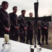 Gottesdienste mit Soldaten stehen im Zentrum der Militärseelsorgearbeit.