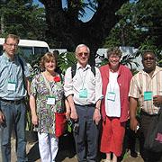 Die Delegierten aus dem Rheinland bei der Internationalen Ökumenischen Friedenskonvokation.