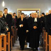 Zeit für Besinnung und Begegnung: Gottesdienst während der Landessynode