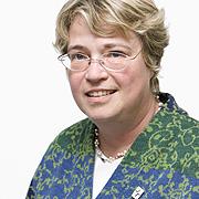 Ökumene-Chefin der rheinischen Kirche: Oberkirchenrätin Barbara Rudolph.