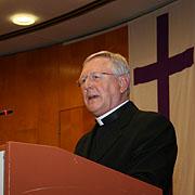 Grußwort bei der Landessynode 2012: Manfred Melzer.