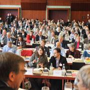 Die Landessynode 2012 hat über das Thema Leben und Sterben beraten.
