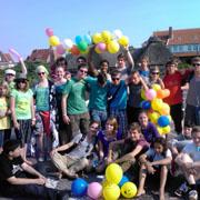 Typisch Schülerinnen- und Schülerarbeit: Sommerfreizeit im BK-Heim auf Baltrum.