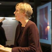 Bauen ist Gemeindeentwicklung: Baudezernentin Gudrun Gotthardt begrüßt zur Verleihung des ersten rheinischen Architekturpreises.