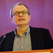 Pfarrer Ulrich Lilie hielt die Andacht an der Landessynode 2013.