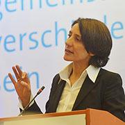 Dr. Ellen Ueberschär bei ihrer Vorstellung für die Präses-Wahl.