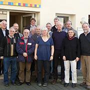 Die Umweltbeauftragten der rheinischen Kirchenkreise bei ihrem Frühjahrstreffen 2013 in Bonn.