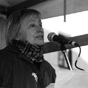 Dorothee Sölle (1929-2003), Foto: kirche-koeln.de / Ralf Boedler