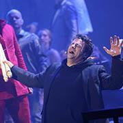 Der Luther des Oratoriums wurde von Frank Winkels gespielt.