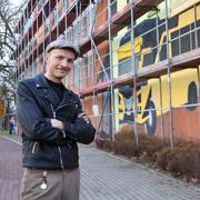 """Mit """"ein bisschen Vaterstolz"""" präsentierte Hardy Bock sein Großprojekt."""