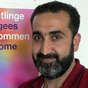 Essam Alhammod hat in Syrien als Informatiker gearbeitet. Dafür hat er aber keinen Nachweis.