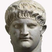 Marmorporträt des Nero, 64-68 n. Chr., © Rheinisches Landesmuseum Trier, Th. Zühmer, Original: München, Staatliche Antikensammlungen und Glyptothek