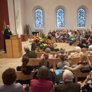 Präses Manfred Rekowski hat beim Erntedankgottesdienst in der Unterbarmer Hauptkirche gepredigt.