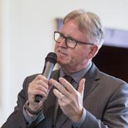 Pfarrer Jens Sannig, Vorstandsvorsitzender des Rheinischen Verbands Evangelischer Tageseinrichtungen