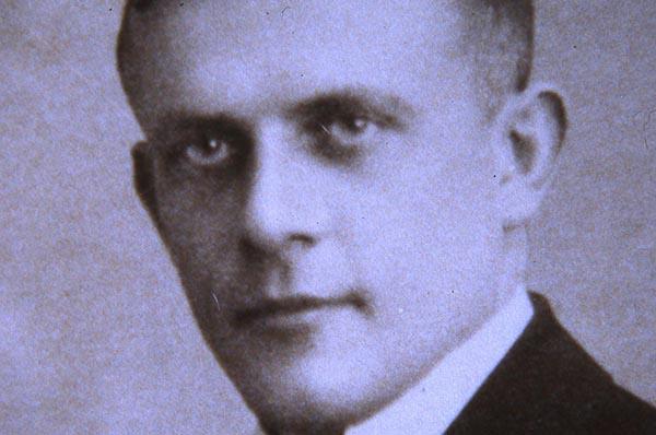 Pfarrer Paul Schneider, 1939 im KZ Buchenwald ermordet.