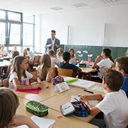 Reli-Unterricht in der sechsten Klasse des Städtischen Gymnasiums Broich.