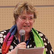 In der Mitte europäischer protestantischer Kirchen sein: Barbara Rudolph, Leiterin der Ökumene-Abteilung der rheinischen Kirche.