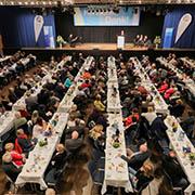 Engagiert in der Flüchtlingsarbeit: Rund 500 Ehrenamtliche kamen zum Dankesfest.