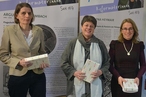Die Macherinnen der Reformatorinnen.Ausstellung.
