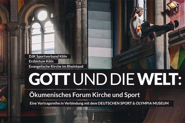 Beim 'Ökumenischem Forum Kirche und Sport' werden die Berührungspunkte aus verschiedenen Perspektiven beleuchtet.