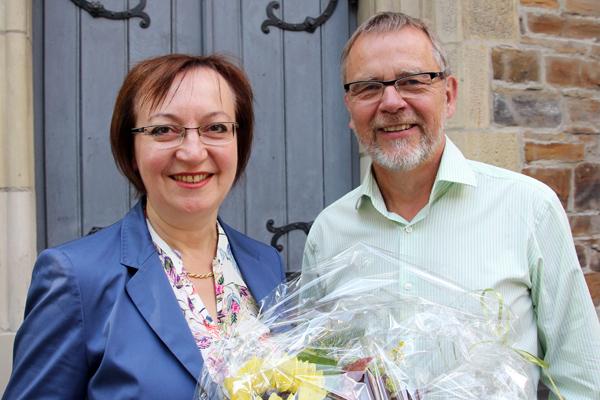 Wechsel im Chorverband: Brigitte Rauscher wird Nachfolgerin von Hans Wülfing.