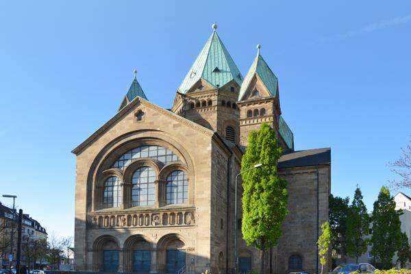 Kreuzkirche in Düsseldorf.