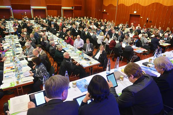 Plenum der Landessynode 2017