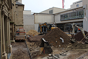 Ausgrabungsarbeiten im AntoniterQuartier.