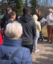Erinnerungsarbeit ist für Respekt Coach Melanie Franz wichtig. Deshalb besucht sie regelmäßig mit Schülerinnen und Schülern das Konzentrationslager Natzweiler-Struthof.