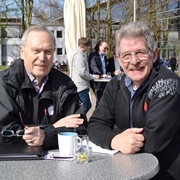 Andere haben dieselben Probleme, das beruhige, finden die Presbyter Jürgen Meinecke (li.) und Bodo Becker-Dresbach.