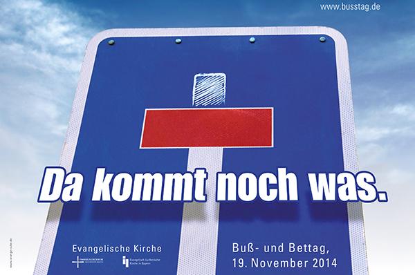 Aktion zum Buß- und Bettag 2014.