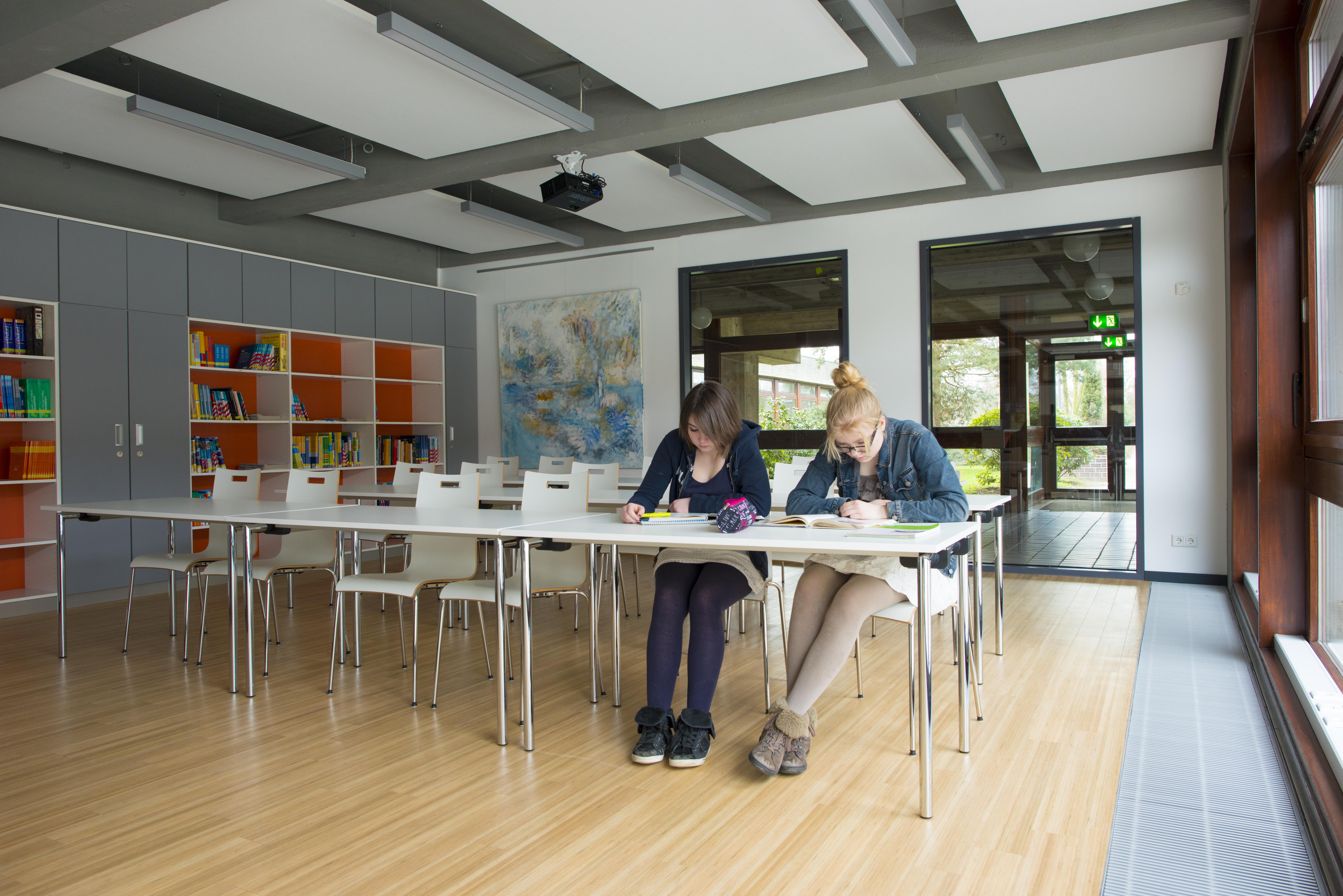 Eine der Schulen der Evangelischen Kirche im Rheinland ist das Theodor-Fliedner-Gymnasium in Düsseldorf.