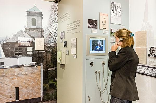 Die Ausstellung über die Barmer Theologische Erklärung ist am historischen Ort, der Gemarker Kirche, zu sehen.